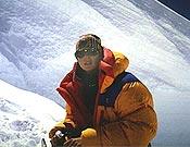 Araceli Segarra durante su intento al Kangchenjunga de 2001. Foto. aracelisegarra.com