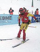 Manu Pérez en una imagen en Baqueira en 2004.- Foto: Fedme