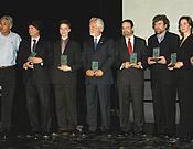 VII edición de la entrega de premios de la Sociedad Geográfica Española. Abril 2005.Foto: Sergio Prieto