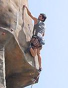 El escalador madrileño Dani Andrada.Foto: top30.es