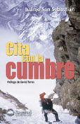 Portada de la nueva edición de Cita con la cumbre (Ed. Desnivel). ~ desnivelpress.com