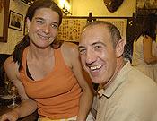 Ester Sabadell y Juanjo San Sebastián.- Foto: desnivelpress.com
