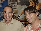 Juanjo San Sebastián con Ramón Portilla, a la derecha.- Foto: desnivelpress.com