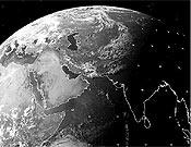 Imagen de la región del Himalaya captada por el satélite Meteosat el día 11 de junio.<br>Foto: ethz.ch