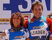 Los líderes de la clasificación, Fernando García y Mónica Ardid. Foto: fedme.es