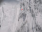 Humar escalando poco antes de verse atrapado por el mal tiempo.- Foto: humar.com