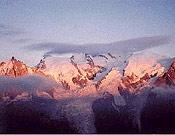 El Mont Blanc, en cuyas cercanías se disputa la prueba.- Foto: ultratrailmb.com