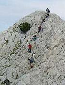 Una de las excursiones realizadas durante el campamento.- Foto: fedme.es