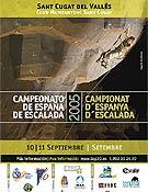 Cartel del Campeonato de España 2005. - Foto: top30.es