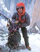 La alpinista Cecilia Buil.- Foto: Col. Cecilia Buil