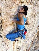 Josune Bereziartu se lleva a vista Fuente de energía, 8b de Vadiello (Huesca). - Foto: Rikar Otegi