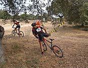 La prueba de bici de montaña.- Foto: orientaventura.org