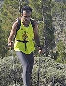 El vencedor de la prueba, el canario Domingo Juárez.- Foto: Dioni Serrano