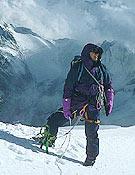 El alpinista esloveno, en una de sus ascensiones.Foto: humar.com