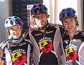 Los Campeones de España, el Abarth-AXN.- Foto: meridianoraid.com