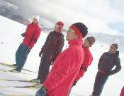 Concentración de pretemporada del equipo FEDME de esquí de montaña en Tignes- Foto: FEDME