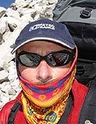 Jean C. Lafaille durante su actual solitaria al Makalu. - Foto: jclafaille.com
