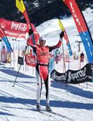 Yann Mondot, ganador de la carrera de 30 km.- Foto: FCEH
