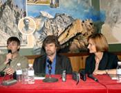 La presentación de un libro de Reinhold Messner en la librería Desnivel.- Foto: desnivelpress.com
