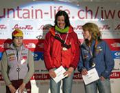 Ines Papert, Jenny Lavarda y Petra Müller en el podio.- Foto: Harold Berger