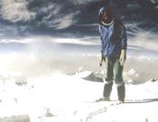 Un momento de la ascensión de Reinhold Messner al Nanga Parbat en el año 1978, 8 después de la desaparición de su hermano.<br>Foto: Ediciones Desnivel
