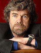 Reinhold Messner en su visita a la Librería Desnivel.<br> Foto: Sergio Prieto
