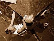 Olga Bibik, la ganadora, en la final femenina de Birmingham 2006. - Foto: Alex Messenger