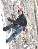 Javier Bueno, uno de los miembros del Equipo de Jóvenes Alpinistas.~ desnivelpress.com