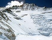 Cara oeste del Lhotse. - Foto: simonemoro.com