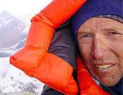 Jordi Corominas en la arista cimera de K2. Foto: K2 Magic Line