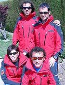 Grupo que intentará el Dhaulagiri, con Carlos Pauner al frente. - Foto: trangoworld.com