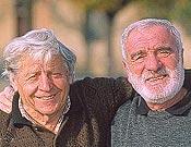 Cesarino Fava y Cesare Maestri.  - Foto: desnivelpress.com