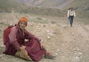 Un monje budista en el Himalaya.- Foto: Darío Rodríguez