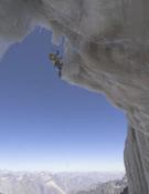 Escalando Senda Real, cara sur del Cerro Marmolejo, Chile. Fotos: Hermann Erber