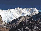 Vista de la vertiente suroeste del Kangchenjunga.- Foto: Unió Excursionista de Sabadell