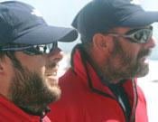 Los andaluces,Pedro López y Juan Antonio Huisa, en el Everest.- Foto: Expedición Andalucía Everest