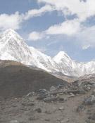 Los glaciares Punori y Khumbu a 7.16e metros, en el Everest. Fotos: mallorcaadaltdetot.com