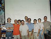 La Junta Directiva y los socios fundadores de RedMontañas.- Foto: RedMontañas
