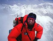 Iñaki Ochoa de Olza en una imagen de archivo, en la norte del Kangchenjunga. - Foto: navarra8000.com