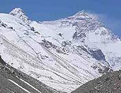 Vista del Everest, donde se encuentra la expedición catalana.- Foto: Expedición Pirineu de Girona Everest