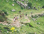Vista de la carrera en Zegama disputada en 2005.- Foto: zegama-aizkorri.com