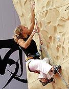 La escaladora eslovena Natalija Gros. - Foto: Israel Maciá