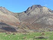 Vista de la Peña Cabrera, en la Sierra de Gredos.- Foto: Tino Núñez