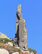Cara sur de El Cuchillo, en Navandrinal, Sierra de Gredos.- Foto: Tino Núñez