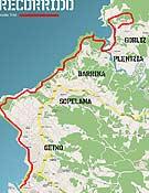 Mapa del recorrido del I Kosta Trail.- Foto: kostatrail.com