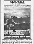 César P. de Tudela en la portada de Vivir Ya en 1965, en uno de sus reportajes.- Foto: Co. César P. de Tudela