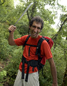 Simón Elías en la Sierra de Cantabria (Álava). - Foto: Darío Rodríguez