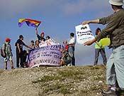 Una subida más popular se produjo en Cabezo de las Zorras, en la estepa zaragozana.- Foto: cumbresvivas.org