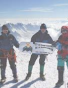 SEOBirdlife subió al Mont Blanc, la montaña más alta de Europa.- Foto: cumbresvivas.org