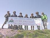 Ecologistas en Acción subió el Pico Acué, en los Pirineos.- Foto: cumbresvivas.org